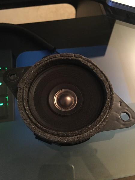 Factory dash speaker