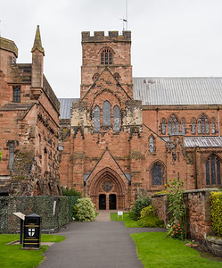 Carlisle Cathedral. It was founded as an Augustinian priory and became a cathedral in 1133. Carlisle is the second smallest of England's ancient cathedrals.