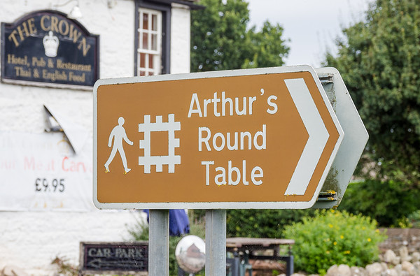 Arthur's Round Table -  Eamont Bridge near Penrith