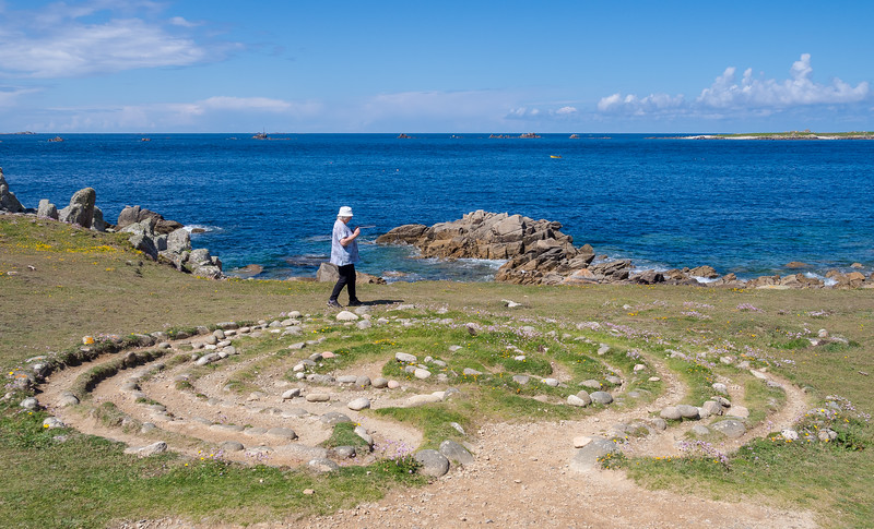 Troy Town Maze - St Agnes, Isles of Scilly