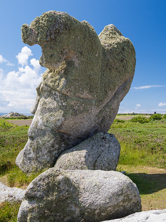 The Nags Head Stone - St Agnes, Scilly