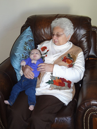 Liana and Great Grandma Lil