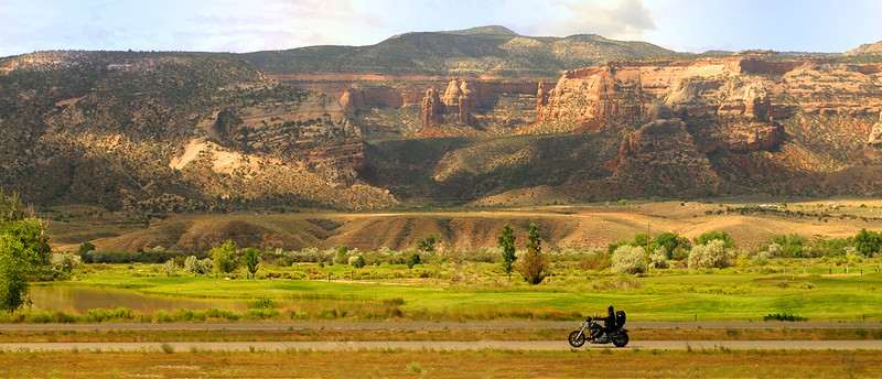 between Green River, Utah and Grand Junction, CO <br /> Photo (c) Liane Brandon