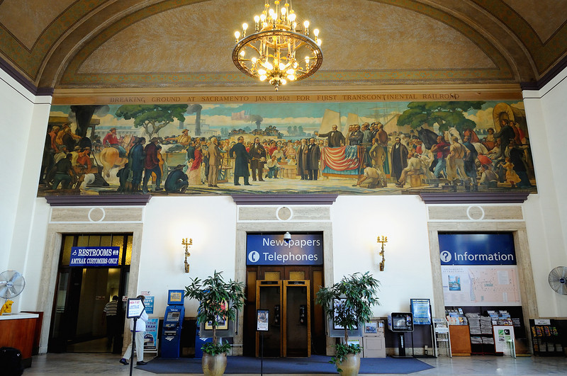 Sacramento Amtrak Station <br /> Photo (c) Liane Brandon