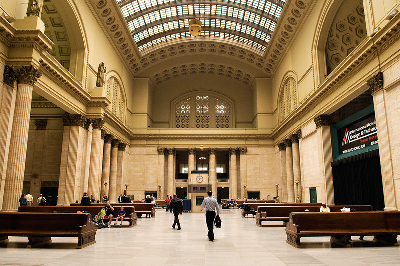 Union Station, Chicago <br /> Photo (c) Liane Brandon