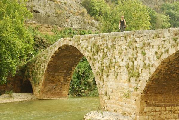 Rzymski most w dordze do jaskini Jeita