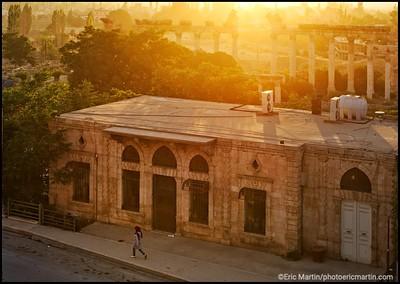 LIBAN. L ACROPOLE DE BAALBEK.