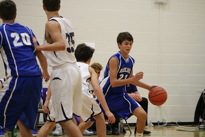 Liberty 8th Grade Boys Basketball - 12/5/16
