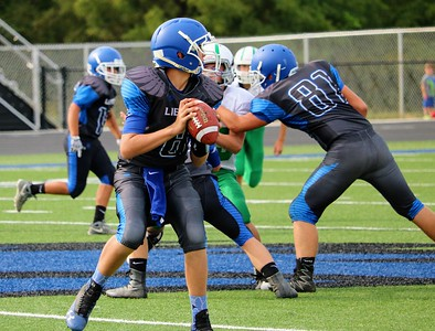 Liberty 8th Grade Football vs Smithville - Sept 12, 2017