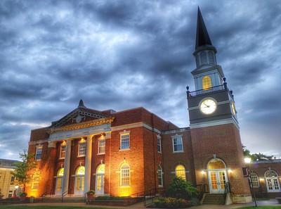 Gano Chapel at Night - William Jewell College - Liberty, Missouri
