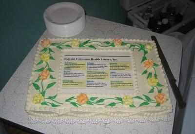 Beautiful cake by Sharon Hemingway, Brattleboro.
