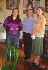 Jen, Sandy, Kathleen