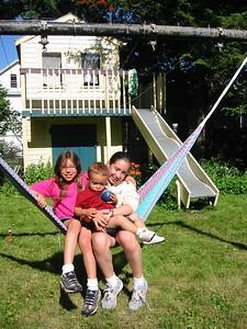The hammock is popular