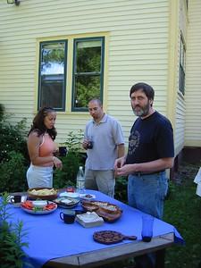 Lisa, Daniel, and Ken