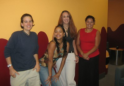 Teen Center staff, September 2005
