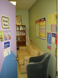Health Room, Holyoke Teen Center