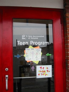 Holyoke Teen Center located at Open Square, 383 Dwight Street
