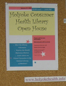 Flyer created by Stephanie to promote the Open House.