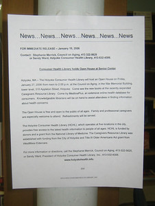 Press release about the Open House