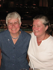 Judy Atkin and Sandra Lawson