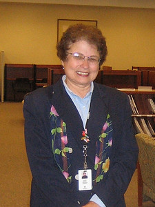 Karen Dorval, Librarian, Baystate Medical Center