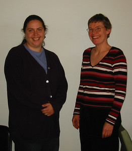 Jen Hartley and Sandy. Oct 2004.