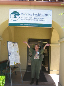 Candace Ford, Director of the PlaneTree Health Library in CA --  an inspirational model for us.