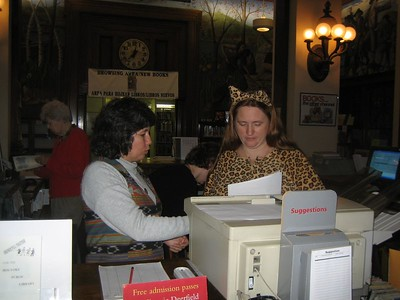 Halloween at the Holyoke Public Library