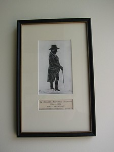 First President of the Massachusetts Medical Society, Edward Augustus Holyoke.  See also my notes on the  photo of his portrait.