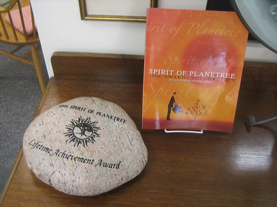 Candace received a nice surprise in 2006:  Spirit of Planetree Lifetime Achievement Award