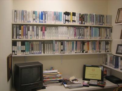 video collection and viewing station