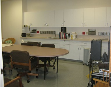 Conference room at Planetree Health Library