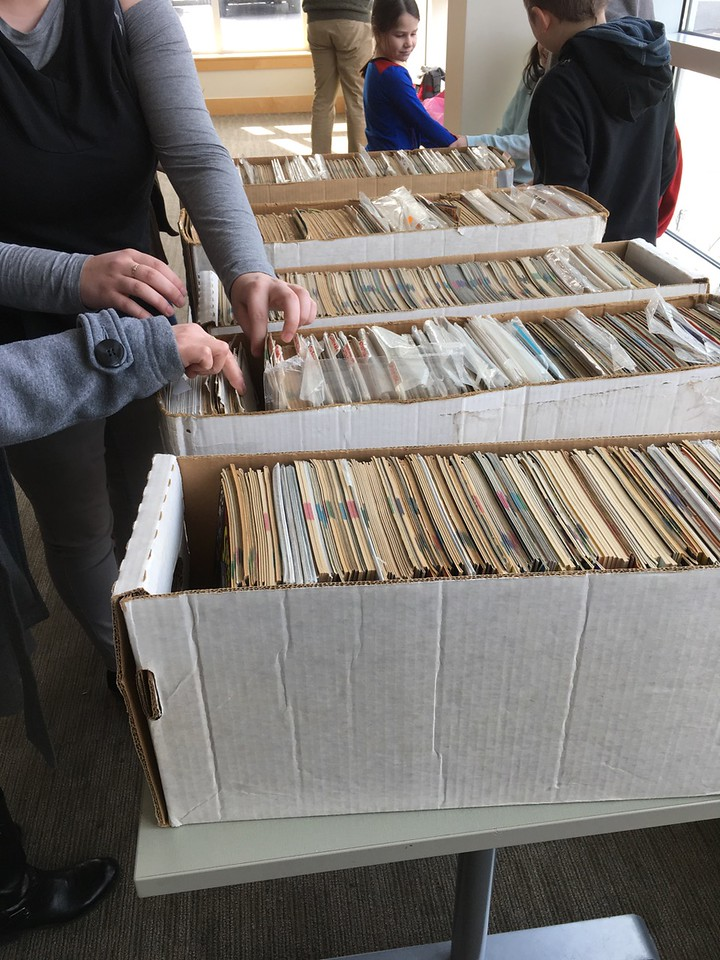We thank Joel Patruno for bringing hundreds of comics from his collection and inviting the public to select 2 each, FREE.