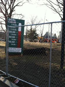 Fundraising continues as construction begins.