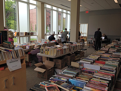 Saturday at 2:30pm.  Still many books available.