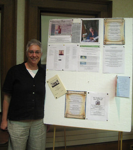 Prof. Gail A. Hornstein, author of Agnes's Jacket: A Psychologist's Search for the Meaning of Madness, spoke at the Annual Meeting of the Friends of the Holyoke Public Library, May 20, 2009. Over 40 people attended. A brief business meeting preceded her talk.