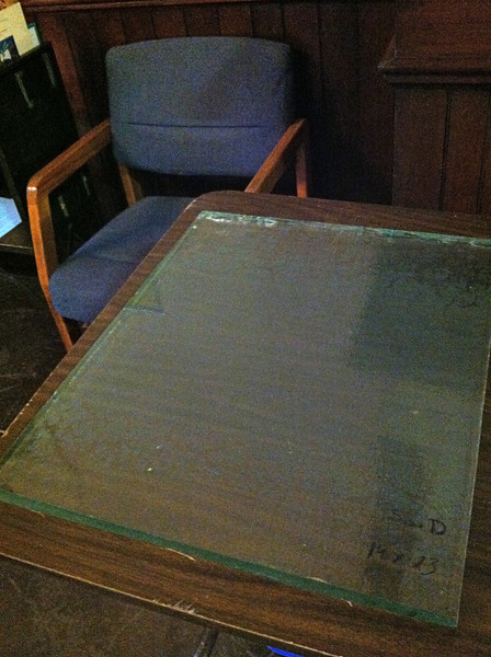 """This is Size D (approx.19 x 23.5""""), one of the SMALLEST of original floor panels.  This size sells for $60 ($48 to Friends members)."""