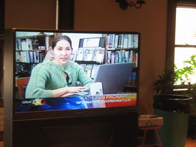 Kathleen on TV!