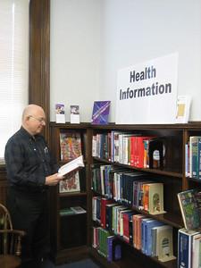 HPL Reference librarian Michael Baron