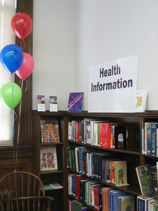 Open house at the new, improved health section