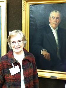 Roberta Newton Brown is the great granddaughter of James Hale Newton.