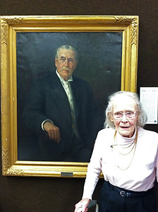 Alice Newton Childs Smith is descended from a brother of James H. Newton.
