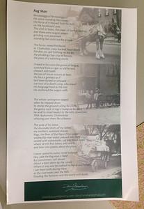 """Broadside of """"Rag Man"""" poem -- one of my favorites."""