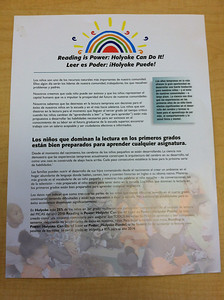 The Davis Foundation provided support, including the printing of these colorful, informative handouts in Spanish and English