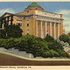Postcard of Jones Memorial Library 1906 (02460)