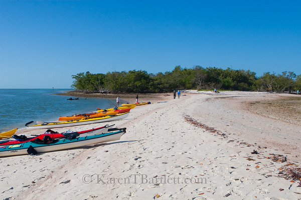9265 Kayaks on Indian Key, Ten Thousand Islands, Florida