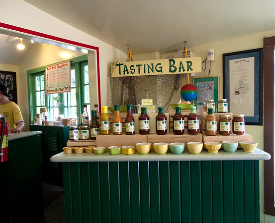 8777 How many things can one do with Key Lime? Try Kermit's sauces at Kermit's Key [West] Lime Shop.