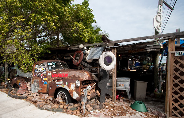 8774 BO's Fish Wagon restaurant Key West
