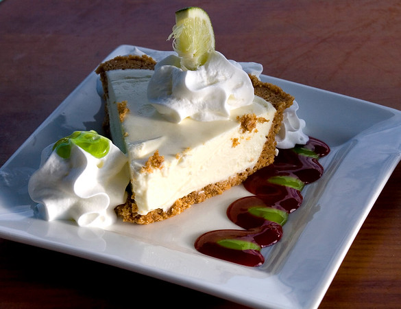 7150 Key Lime Pie<br /> suggest cropping some of plate , following the shape of the pie wedge.