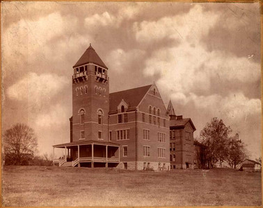 Marshall College Buildings, ca. 1898 (Ph-C0052)